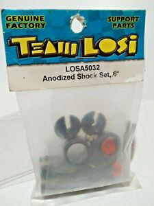 Vintage Team Losi Losa5032 Anodized Shock Set .6 XX XXX CR 10 Scale RC Buggy TL