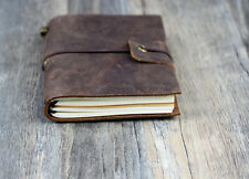 VINTAGE STYLE1  Traveler's Notebook Diary Leather Cowhide diary D0407
