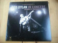 BOB DYLAN - IN CONCERT BRANDEIS UNIVERSITY 1963 - VINYL