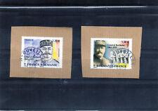 derniere   Nouveaute 2018   les 2 timbres    France ROUMANIE       oblit