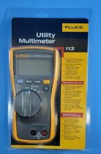 New Fluke 113 Trms Multimeter Original Packaging