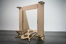 3D Printer Reprap Mendel Rework Prusa i3 Frame Laser Cut 6mm PlyWood