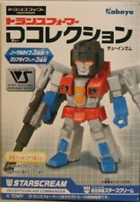 Kabaya Transformers Starscream D Collection Mini Figure Candy Toy Solid Color