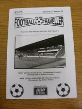 20/02/2014 The Football Traveller Magazine: Volume 27 Issue 26 - Cover Pictures