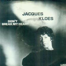 """7"""" Jacques Kloes/Don´t Break My Heart (NL)"""