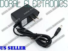 9V DC 0.5A 1A 2A Power Supply Adapter 110/220 9 V Volt 9Volt Wall 500ma 1000ma