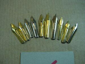 10 Federn für Füller, Federhalter,Tintenfeder (Ersatzfeder),Schreibfedern 6
