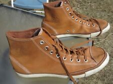 CONVERSE ALL STAR High Top Brown Suede Unisex Shoe / Pre-owned / M 12 / W 14