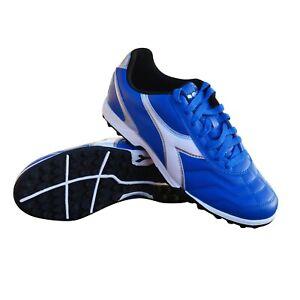 Diadora Men's Capitano TF Turf Soccer Shoes (Royal Blue)