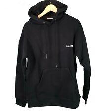 Balenciaga Black hoodie Logo print