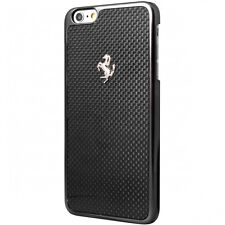 Ferrari GT Carbon Frame Black Hard Case for iPhone 6 / 6s 4.7