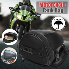 1x Motorcycle Rear Back Seat Sports Waterproof Tail Tank Bag Luggage Saddlebag