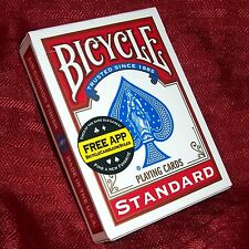 Professional Stripper Card Deck - Red Bicycle Back - Magic Trick - Shaved