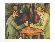 Paul Cezanne Kartenspieler Poster Kunstdruck Bild 40x50cm