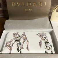 BVLGARI x Hirohiko ARAKI JoJo's Bizarre Adventure Zip wallet White Killer Queen