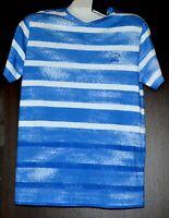 Paul & Shark AUTHENTIC Men's Blue White Striped Italy Cotton T-Shirt Shirt Sz L