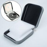 40 CD DVD Disc Album Storage Case Cover Wallet Sleeve Holder Bags Hard Box Black