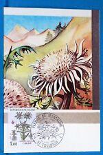 CARLINE FLEURS DE MONTAGNE   FRANCE CPA Carte Postale Maximum  Yt  2266 C