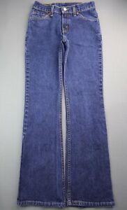 Vintage 2000 Women's Levi's 517 Jeans Slim Fit Boot Cut USA Size 3 JR S (27x29)
