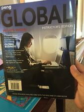 Global Instructor's Edition by Peng Faculty  Textbook 2010 Excellent Condition