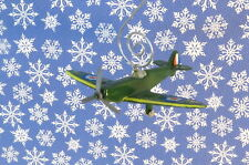 Custom Christmas Ornament WWII Military Plane Airplane