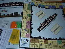 JEU IMMOBILIER de SOCIETE ANTI-MONOPOLY euros UNIVERSITY GAMES