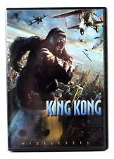 KING KONG  (DVD 2006 Anamorphic Widescreen) Jack Black Naomi Watts Adrien Brody