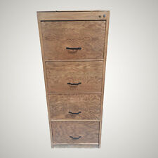 Upcycled Wooden 4 Draw Filing Cabinet Dated 1944 with King George Markings