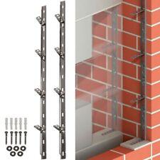 STAINLESS STEEL WALL STARTER KIT Brick Block Extension Interior Exterior Tie In