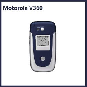 Original Unlocked Motorola V360 Mobile Phone 1.9 in Bluetooth GSM Flip-Phone