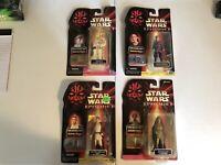 1999 Star Wars Episode 1 (4 Un Opened Figures)