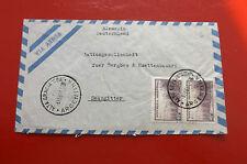 *Brief Beleg - Argentinien Deutschland - Salzgitter AG  50-er Jahre (94)