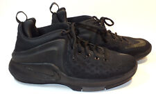 a930581c803ff2 Nike Zoom Basketball Shoes Girls Womens Black Size 7Y Sneakers Athletic  Sports