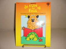 Minds On Fun For Fall Unit Theme Book Grades K 1 2 3 4 School Autumn Activities