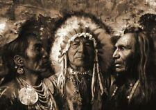 A3 Indios Nativos Poster Print GZ1142