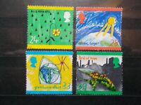 GB 1992 Commemorative Stamps~Green Issue~Very Fine Used Set~UK Seller