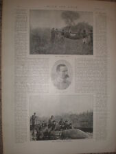 Photo article Captain Gibbons big game hunting in Africa 1897 my ref L