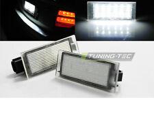 Coppia di Placchette Luci Targa LED Renault TWINGO II CLIO III MEGANE LAGUNA 2 3