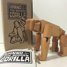 Areaware Annone Jnr David settimane in legno Toy Designer RARO UK venditore non Kidrobot