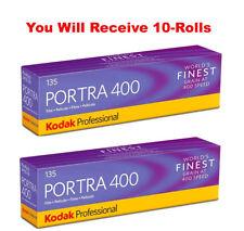 (10 Rolls) Kodak Portra 400 35mm Film 135-36 Color Negative ISO 400 FRESH 7/2020