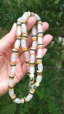 100% Natural Grade A Burmese Jade Beaded  Necklace