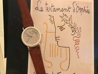"Corum - Jean Cocteau Watch - ""Scarce"" - Grey Dial - Swiss Made"