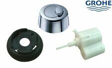 Grohe 42357PI0 Eau2 Old Style Dual Flush Pneumatic Chrome Toilet Push Button Kit
