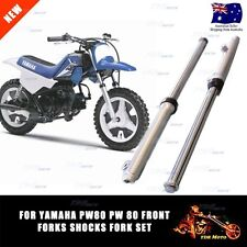 For YAMAHA PW80 PY80 PEEWEE FRONT FORKS SHOCKS FORK SET ASSEMBLY TTR90 PW80