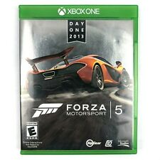 Forza Motorsport 5 Day One 2013 Xbox One Video Game CIB