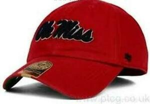 Mississippi Rebels NCAA Ole Miss Red Franchise Hat Cap size Medium