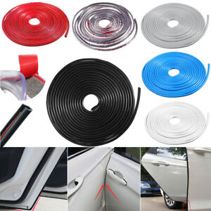 10M/32ft Car Door Scratch Protector Edge Guard Moulding Trim Rubber Strip Kit