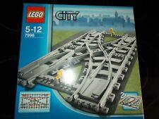 Lego® City Eisenbahn - 7996 - Doppelkreuzweiche / Kreuzung - mit OVP