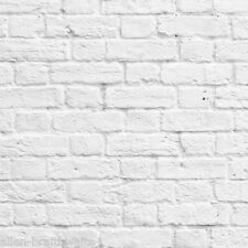 Painted Brick Wallpaper by Muriva - White 102539