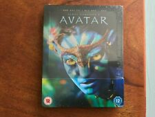 Avatar 3D/2D Limited Edition Blu-ray & DVD Steelbook Brand New & Sealed **RARE**